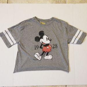 Disney Mickey Mouse 1928 T Shirt Sz XS (Girls)